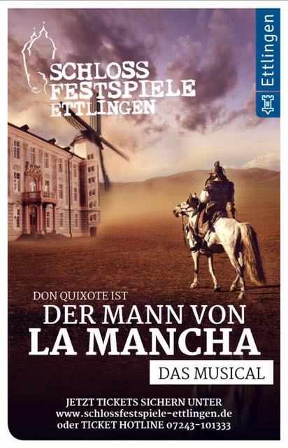 Schlossfestspiele Ettlingen – Der Mann von La Mancha
