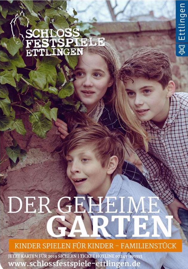 Schlossfestspiele Ettlingen - Der geheime Garten